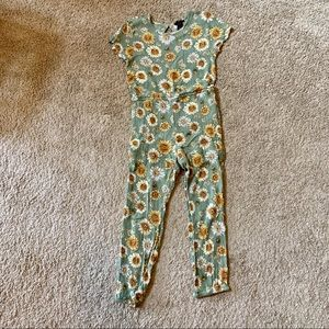Girls Daisy Jumpsuit w/ built in Shorts Forever21